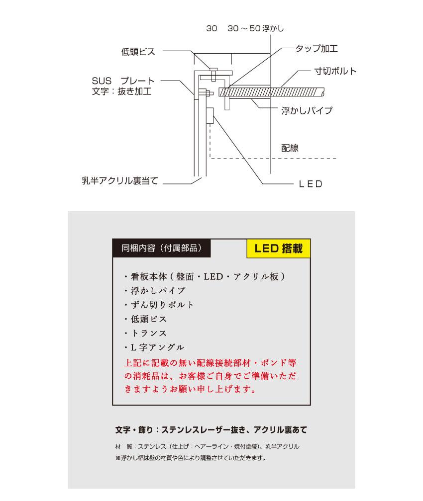 LED看板 マンション銘板